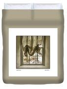 Window Dressing Duvet Cover