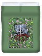 Window Flower Box Duvet Cover