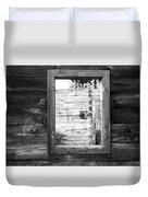 Window Frame Duvet Cover