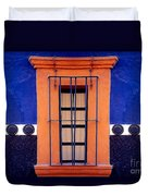 Window In San Miguel De Allende Duvet Cover