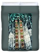 Window In The Lisbon Cathedral Duvet Cover
