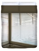 Window Light - Urban Exploration Duvet Cover