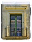 Window Of Amelia Duvet Cover