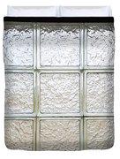 Window Of Glass Duvet Cover