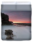 Window On Dawn Duvet Cover
