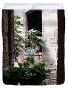 Window Plants Duvet Cover
