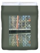 Window Reflection Duvet Cover by Don Perino