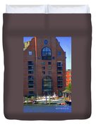 Window Reflections Duvet Cover