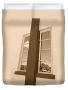 Window T Glass Duvet Cover