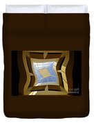Window To Another Dimension Duvet Cover