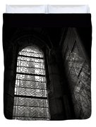Window To Mont St Michel Duvet Cover by Dave Bowman