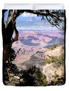 Window To The Past 1 - Grand Canyon Duvet Cover