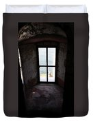 Window To The Sea Duvet Cover
