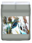 Window To The Soul 2 Duvet Cover