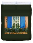 Window To The World Duvet Cover