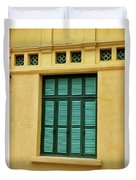 window to Vietnam Duvet Cover