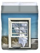 Window With A View Duvet Cover
