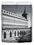 Windows Of El Escorial Spain Duvet Cover