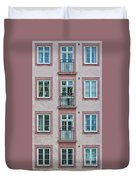 Windows Of The French Style Duvet Cover