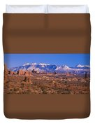 Windows Section, Arches National Park Duvet Cover