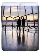 Windowscape Duvet Cover