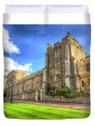 Windsor Castle Architecture Duvet Cover