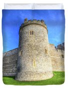 Windsor Castle Battlements  Duvet Cover