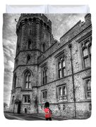 Windsor Castle Coldstream Guard Duvet Cover