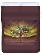 Windstorm At Skaha Lake Duvet Cover