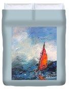 Windsurf Impression 04 Duvet Cover