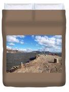 Windswept Cobb - Lyme Regis Duvet Cover