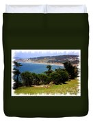 Windswept Over San Francisco Bay Duvet Cover