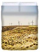 Windswept Tasmania Duvet Cover