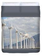 Windturbines Duvet Cover