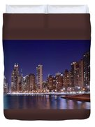 Windy City Lakefront Duvet Cover