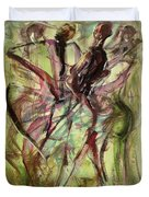 Windy Day Duvet Cover by Ikahl Beckford