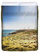 Windy Meadows Duvet Cover