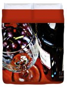 Wine And Dine 1 Duvet Cover