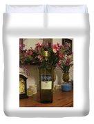 Wine Anytime Duvet Cover