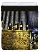 Wine Bazaar Duvet Cover