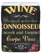 Wine Cellar 2 Duvet Cover