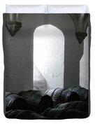 Wine Cellar Duvet Cover