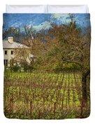 Wine Country California 1 Duvet Cover