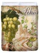 Wine Country Rhone Duvet Cover