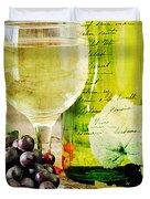 Wine Duvet Cover by Darren Fisher