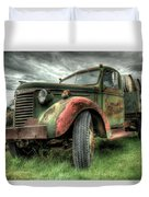 Wine Delivery Duvet Cover