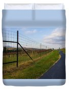 Wine Fields Duvet Cover