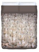 Wine Glasses Duvet Cover