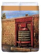 Wine Press Near Narbonne France Dsc01630 Duvet Cover