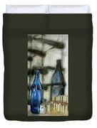 Wine Rack Shadows Duvet Cover